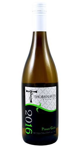 pinot gris 2016 thornhaven wine