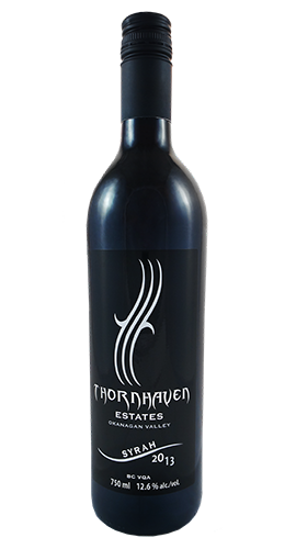 syrah 2013 thornhaven wine
