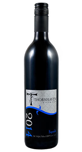 syrah 2014 thornhaven wine